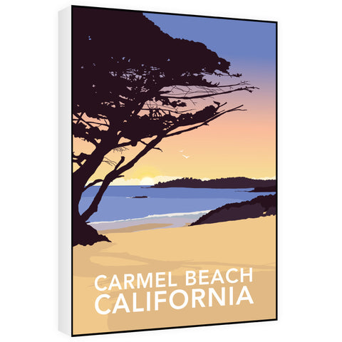 Carmel Beach, California 60cm x 80cm Canvas