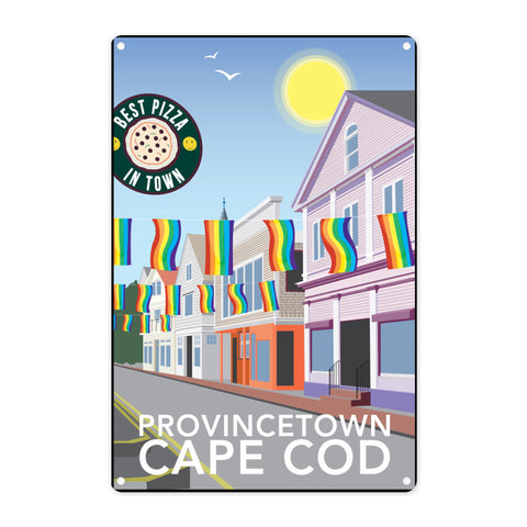 Provincetown, Cape Cod Metal Sign