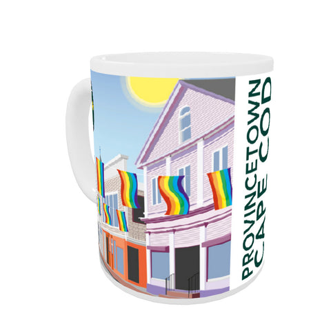 Provincetown, Cape Cod Coloured Insert Mug