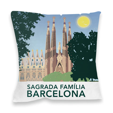 Sagrada Familia, Barcelona Fibre Filled Cushion