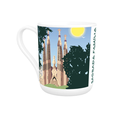 Sagrada Familia, Barcelona Bone China Mug
