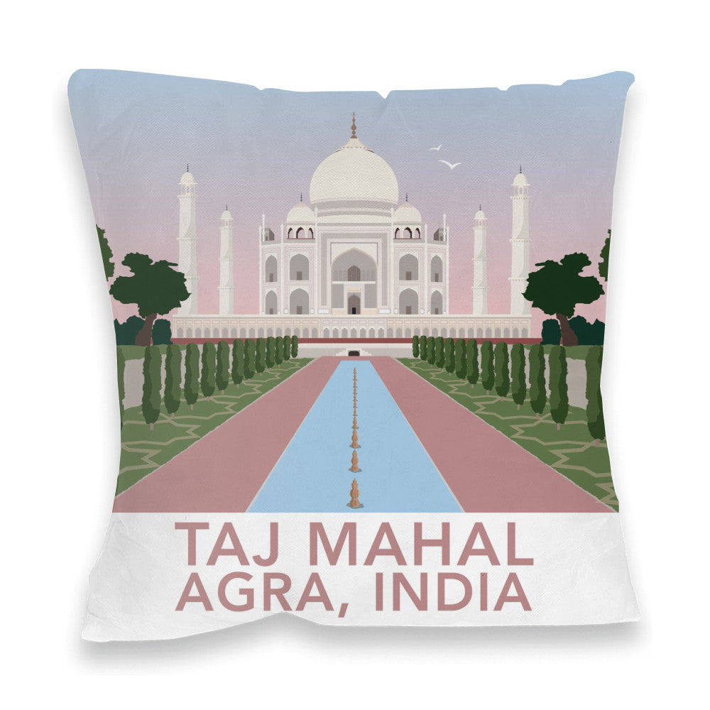 Taj Mahal, Agra Fibre Filled Cushion
