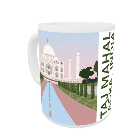 Taj Mahal, Agra Coloured Insert Mug
