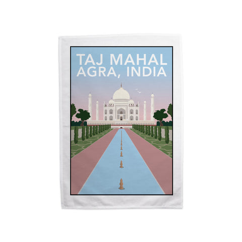 Taj Mahal, Agra Tea Towel
