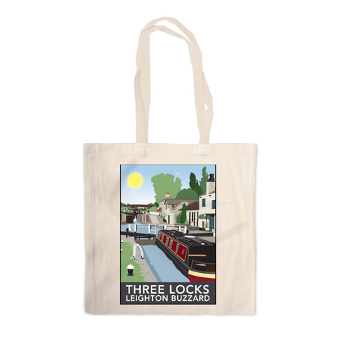 Three Locks, Leighton Buzzard Canvas Tote Bag
