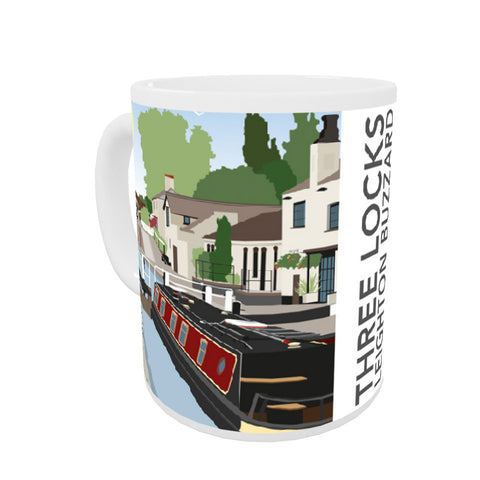 Three Locks, Leighton Buzzard Coloured Insert Mug