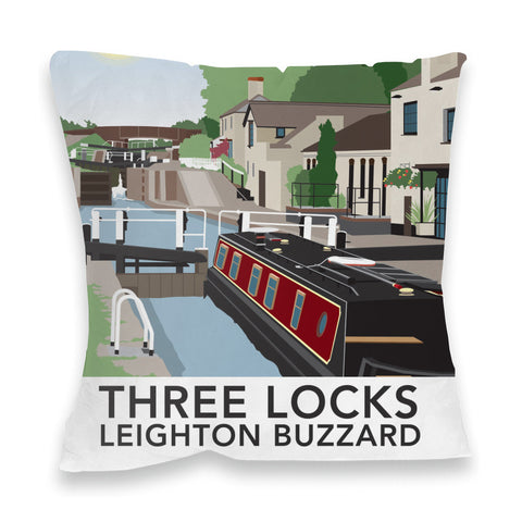 Three Locks, Leighton Buzzard Fibre Filled Cushion