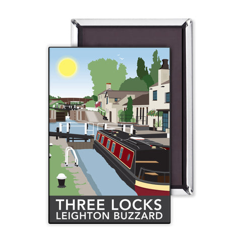 Three Locks, Leighton Buzzard Magnet