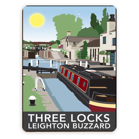 Three Locks, Leighton Buzzard Placemat