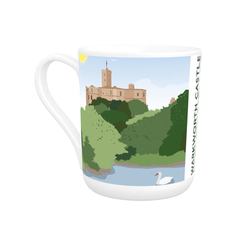 Warkworth Castle, Warkworth Bone China Mug