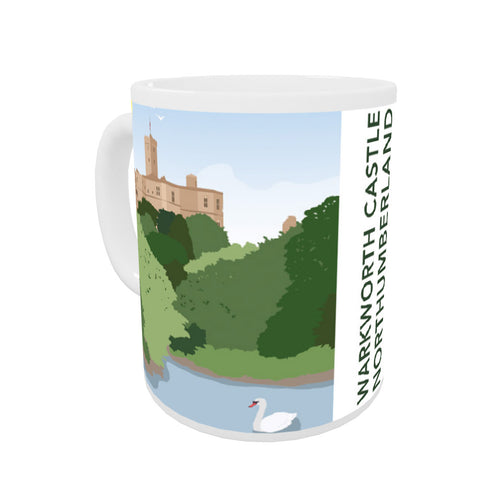 Warkworth Castle, Warkworth Coloured Insert Mug