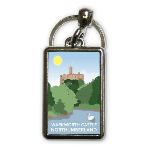 Warkworth Castle, Warkworth Metal Keyring
