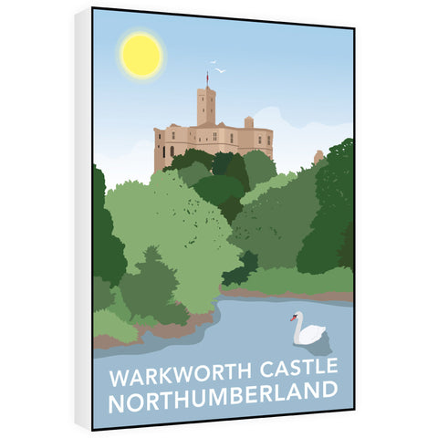 Warkworth Castle, Warkworth 60cm x 80cm Canvas