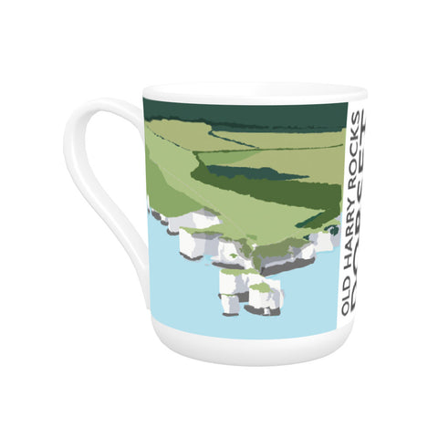 Old Harry Rocks, Dorset Bone China Mug