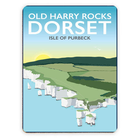 Old Harry Rocks, Dorset Placemat