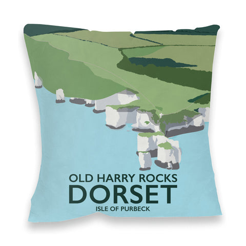 Old Harry Rocks, Dorset Fibre Filled Cushion