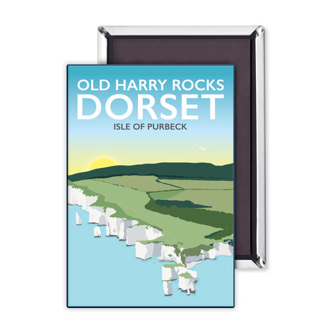 Old Harry Rocks, Dorset Magnet