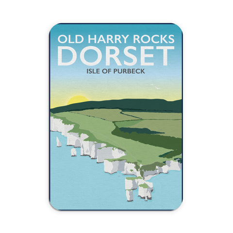 Old Harry Rocks, Dorset Mouse mat