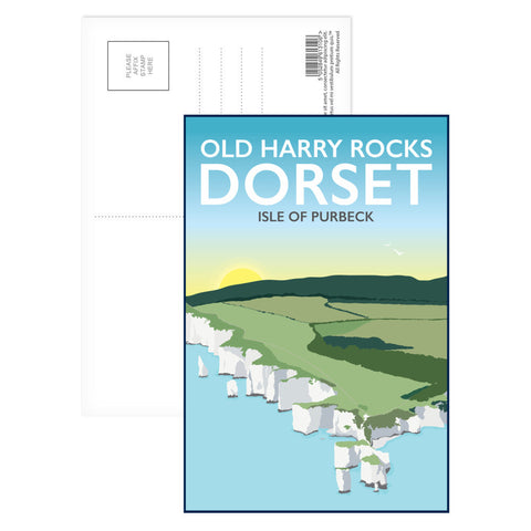 Old Harry Rocks, Dorset Postcard Pack