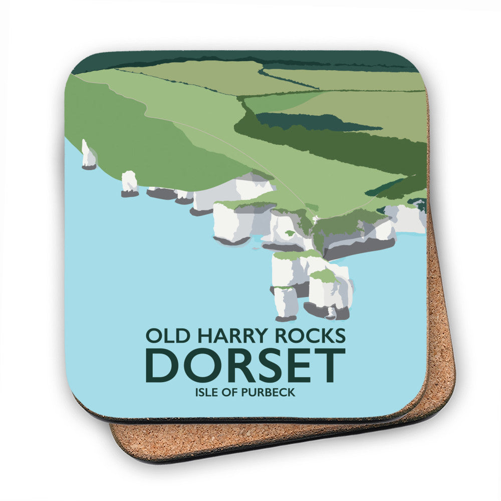 Old Harry Rocks, Dorset MDF Coaster