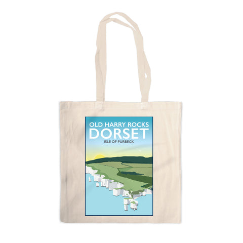 Old Harry Rocks, Dorset Canvas Tote Bag