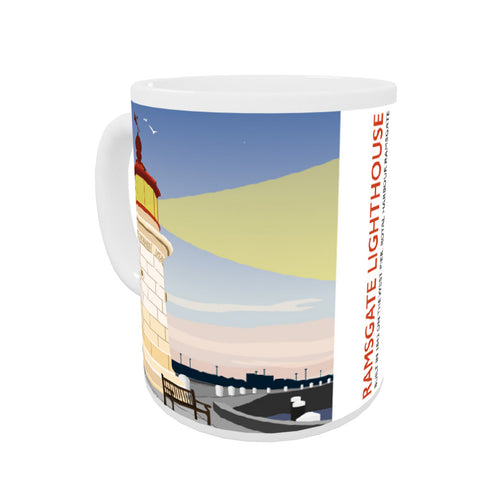 Ramsgate Lighthouse, Ramsgate Coloured Insert Mug