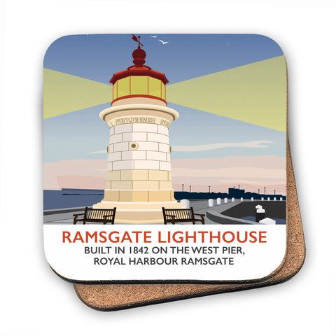 Ramsgate Lighthouse, Ramsgate MDF Coaster
