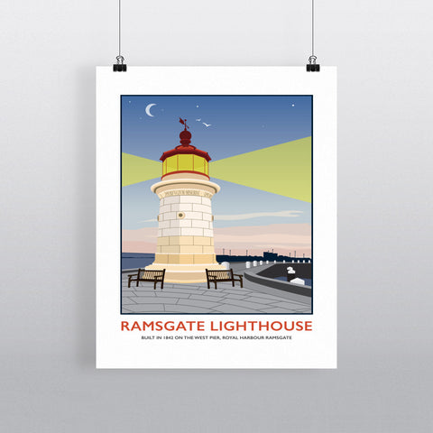 Ramsgate Lighthouse, Ramsgate 90x120cm Fine Art Print
