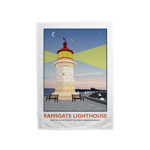 Ramsgate Lighthouse, Ramsgate Tea Towel
