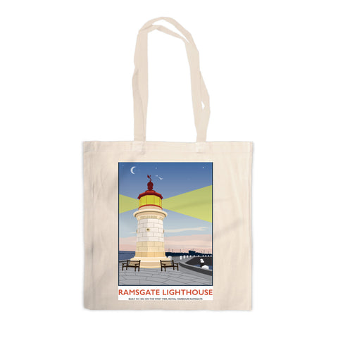 Ramsgate Lighthouse, Ramsgate Canvas Tote Bag