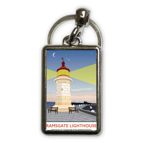 Ramsgate Lighthouse, Ramsgate Metal Keyring