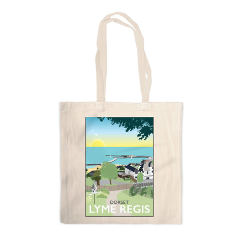Lyme Regis, Dorset Canvas Tote Bag