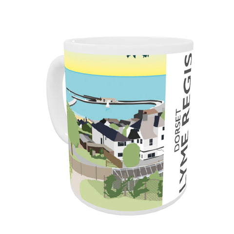 Lyme Regis, Dorset Coloured Insert Mug