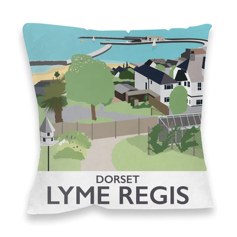 Lyme Regis, Dorset Fibre Filled Cushion