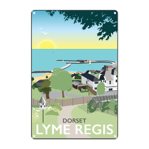 Lyme Regis, Dorset Metal Sign
