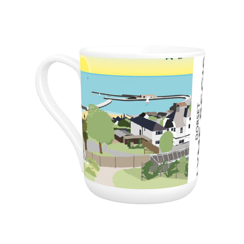 Lyme Regis, Dorset Bone China Mug