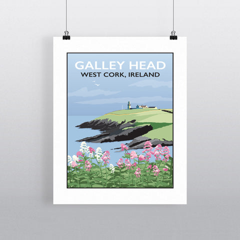 Galley Head, West Cork 90x120cm Fine Art Print