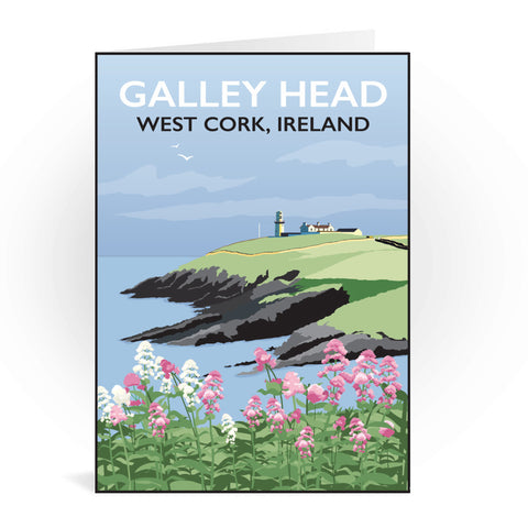 Galley Head, West Cork Greeting Card 7x5