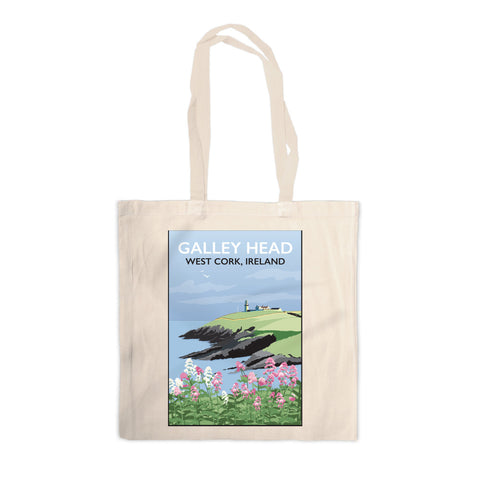 Galley Head, West Cork Canvas Tote Bag