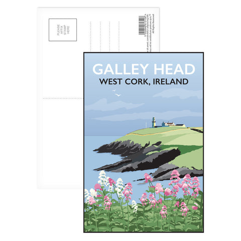Galley Head, West Cork Postcard Pack