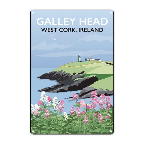 Galley Head, West Cork Metal Sign
