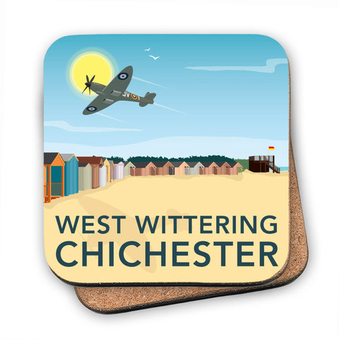 West Wittering, Chichester MDF Coaster