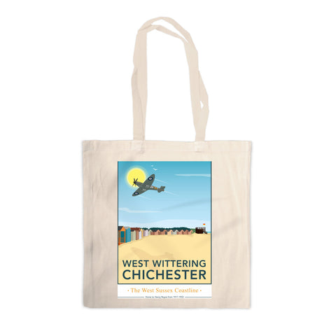 West Wittering, Chichester Canvas Tote Bag