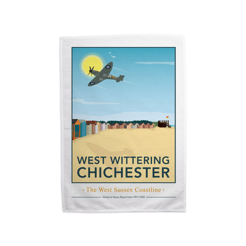 West Wittering, Chichester Tea Towel