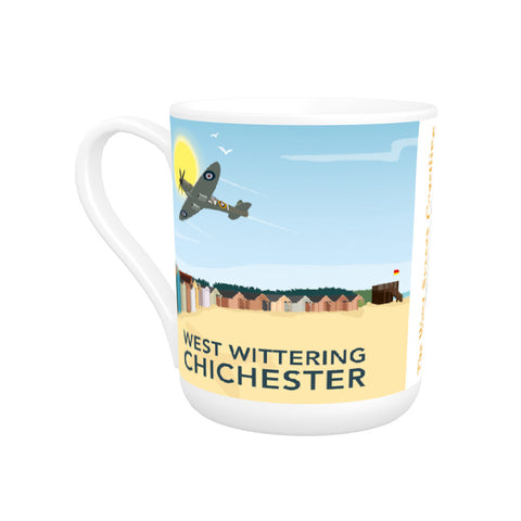West Wittering, Chichester Bone China Mug