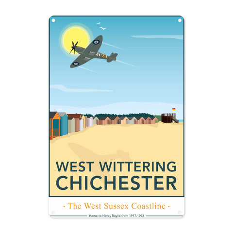 West Wittering, Chichester Metal Sign