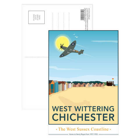 West Wittering, Chichester Postcard Pack