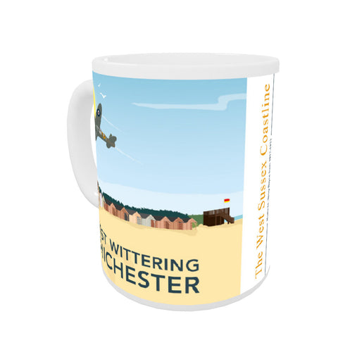 West Wittering, Chichester Coloured Insert Mug