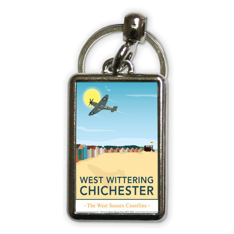 West Wittering, Chichester Metal Keyring