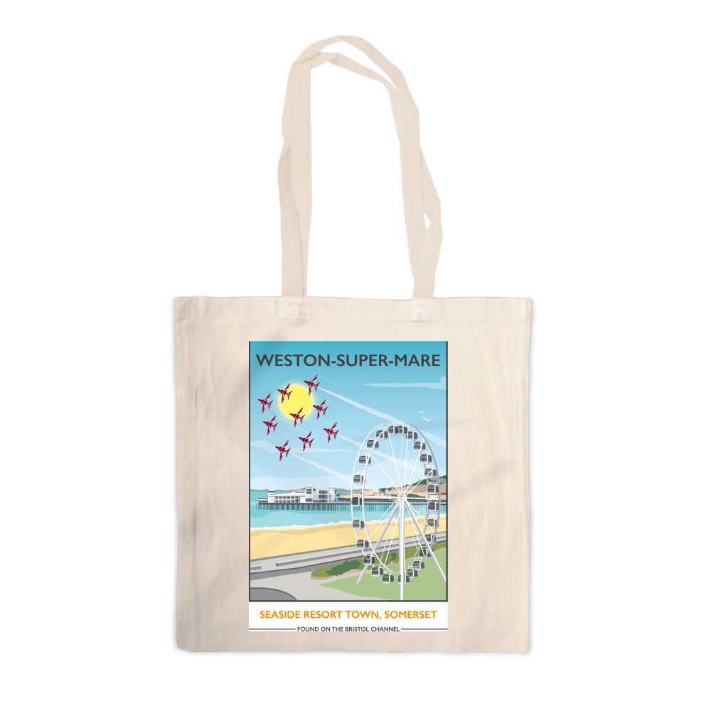 Weston Super Mare, Somerset Canvas Tote Bag